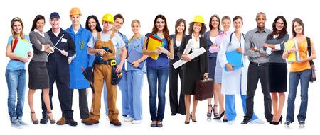 people: Group of workers people.