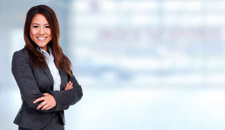 successful business: Asian Businesswoman
