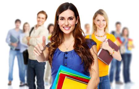 jovenes estudiantes: Estudiantes. Foto de archivo