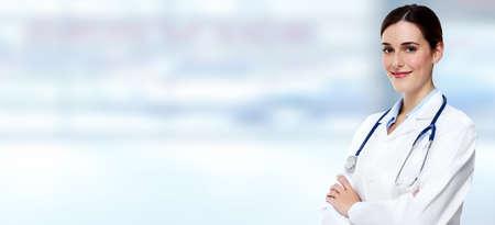 drugstore: Mujer médico.