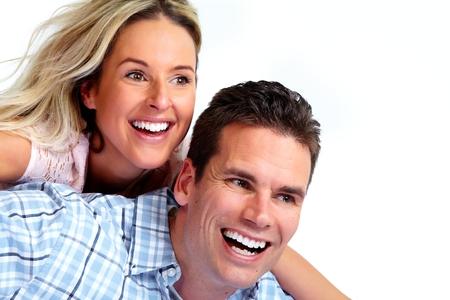 matrimonio feliz: Amando pareja.