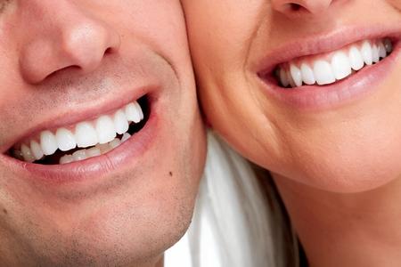 dientes: La gente sonríe.