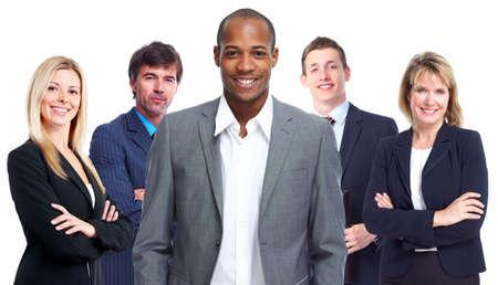 people: 業務團隊。 版權商用圖片