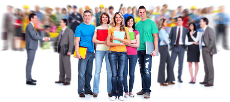 estudiantes: Estudiantes. Foto de archivo