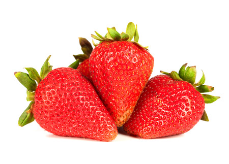 frutillas: Fresas. Foto de archivo