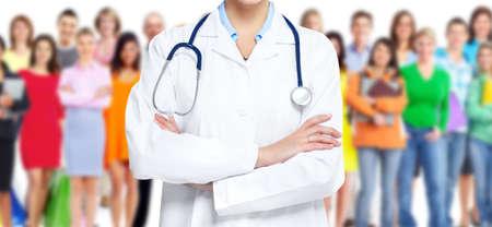 grupo de m�dicos: Doctor en medicina.