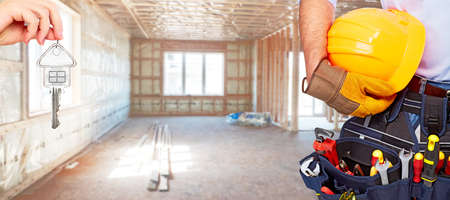 herramientas de construccion: Manitas constructor con herramientas de construcci�n.