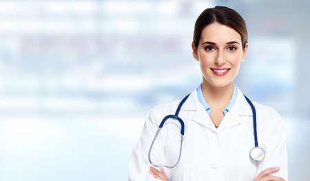 lekarz: Lekarz kobieta. Zdjęcie Seryjne