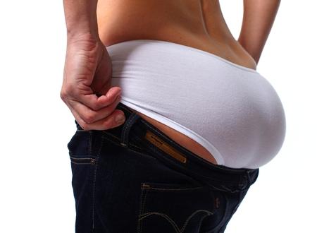 butt: Woman butt.