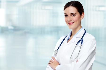 consulta médica: Mujer del médico.