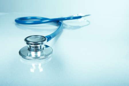 医療聴診器。医療サービス概念の背景。 写真素材