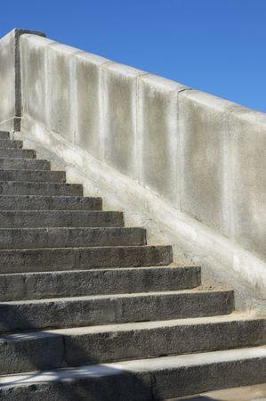 escaleras de granito  Foto de archivo - 227262