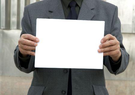 moneymaker: blank sign Stock Photo