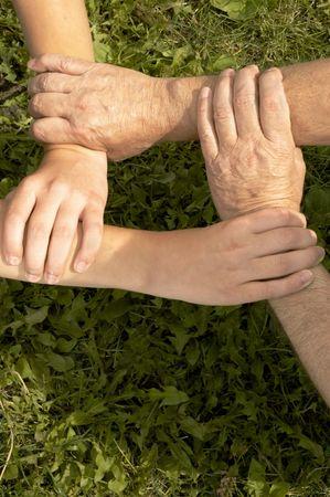 manos unidas Foto de archivo - 251251