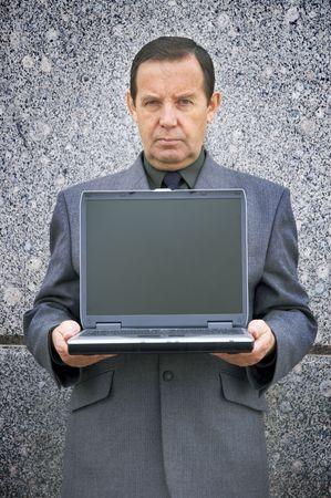 moneymaker: money-maker with laptop