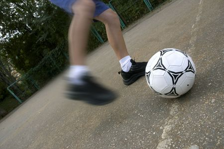 adroitness: soccer on the street