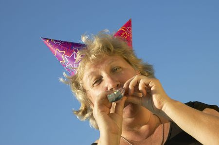 woman from birhtday party Stock Photo - 251243