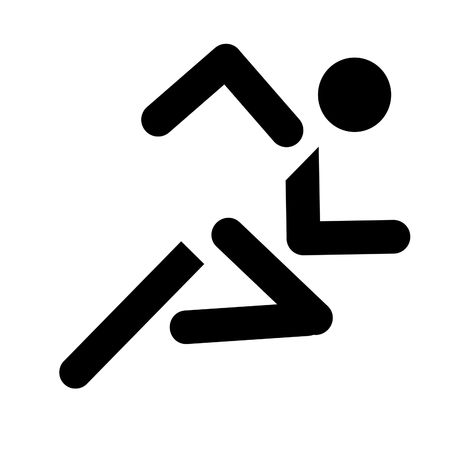 running simbol