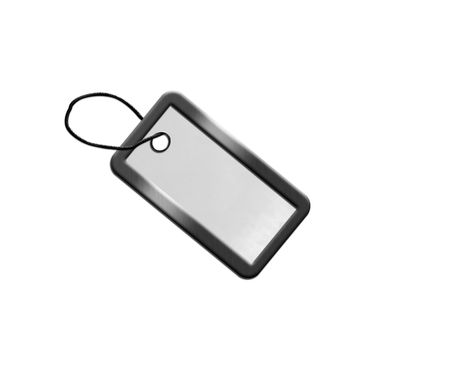 trinkets: silver blank Stock Photo