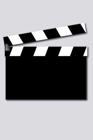 operante: film Clapper  Archivio Fotografico