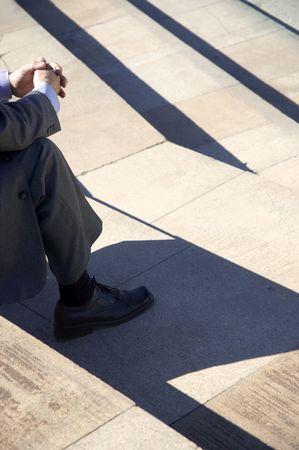 business meditation photo