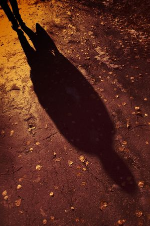 alight: ombra Archivio Fotografico