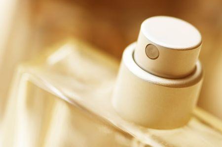 perfume bottle: bottle of perfume Stock Photo