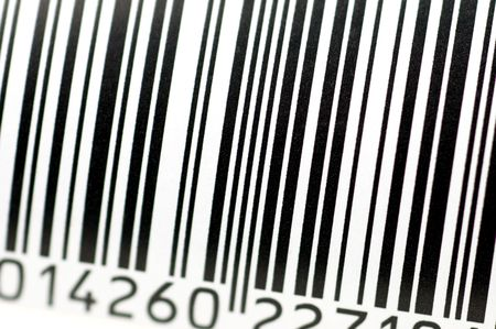 superstore: barcode Stock Photo