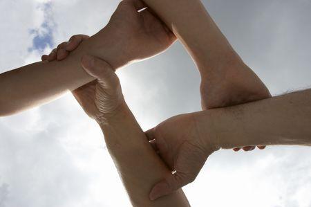 united hands photo