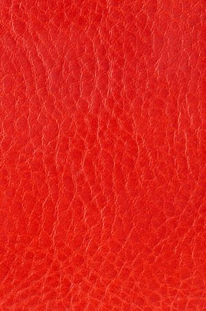 spotlit: red genuine leather Stock Photo