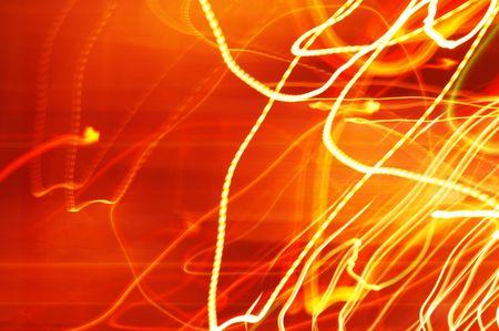 alight: abstract lights Stock Photo