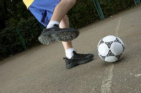 street soccer photo