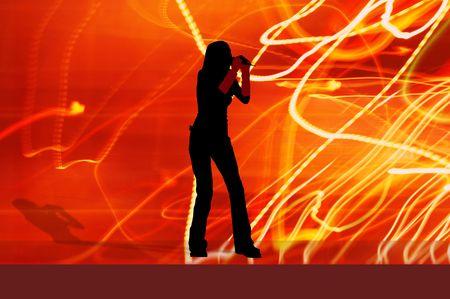 singer girl Stock Photo - 339313