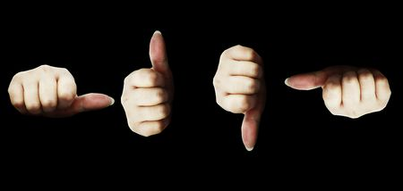 hands isolated Stock Photo - 346240