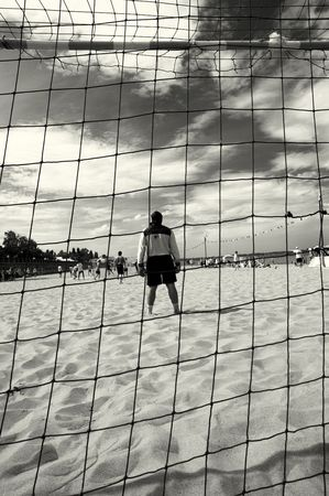 beach soccer Stock Photo - 378883