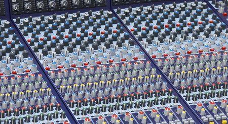timbre: mixer desk