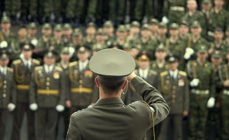 moltitudine: Militare Foto  Archivio Fotografico