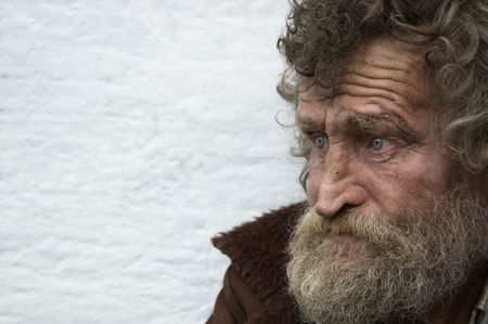 hobo in close up photo