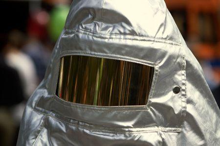 heatproof: special suit of the fireman