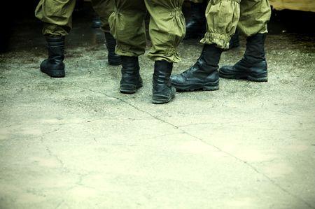 squad: riot squad Stock Photo