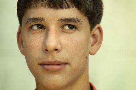 teener: portrait of the boy