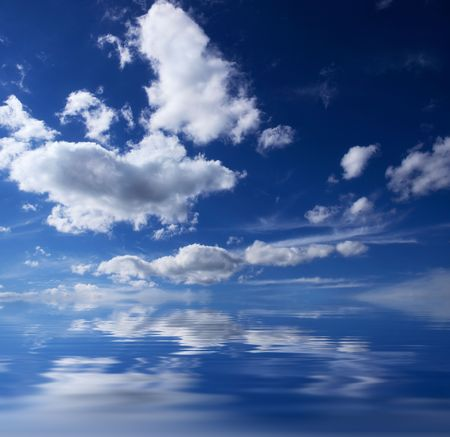 nebulosity: sky with water
