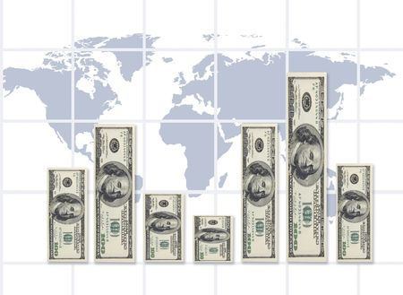 dollar graphic(made from my images on PS,special fx) photo