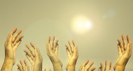 alight: mani che chiedono aiuto (Hans concetto)