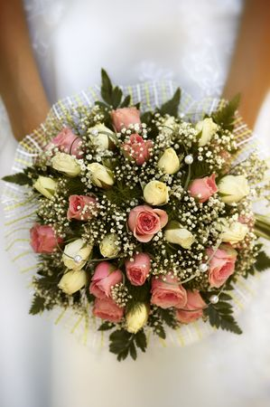 bridal bouquet(focus on the flowers,special photo f/x) Stock Photo - 538142
