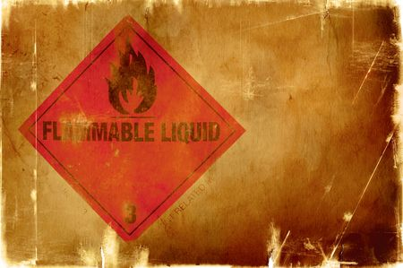 caution chemistry: great grunge texture(special burning fx with dark border)