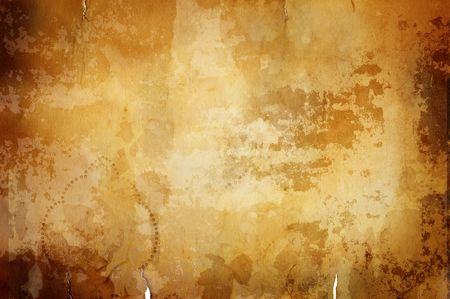 hot spot: great old  grunge paper texture(special fx,all art elements and prints made by me  ) Stock Photo