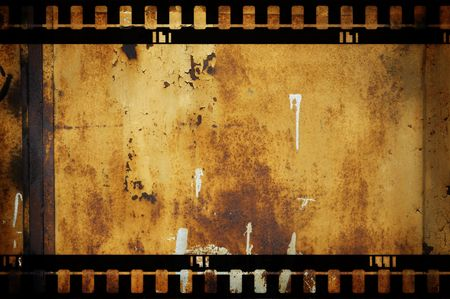 cinematograph: grunge film Stock Photo