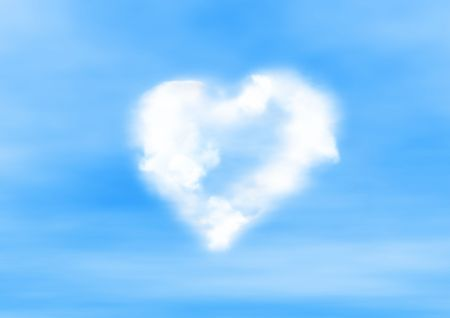 tender soft heart sign(special photo f/x,made from my images,great for your design) Stock Photo - 721093