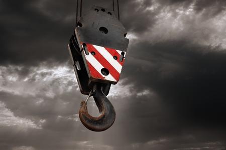 Crane hook Stock Photo - 16399889